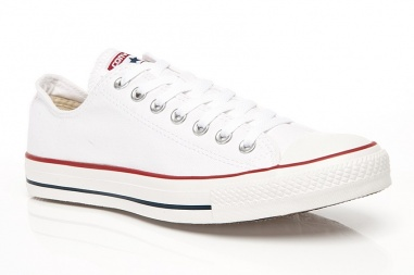 Chuck Taylor All Star OX Low Optic Women White ()