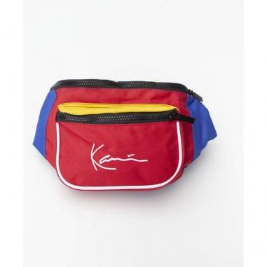 SIGNATURE BLOCK WAIST BAG 631 RED BLUE YELLOW