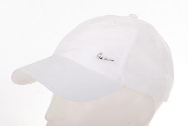 Nike Heritage 86-Metal Swoosh Logo Cap White
