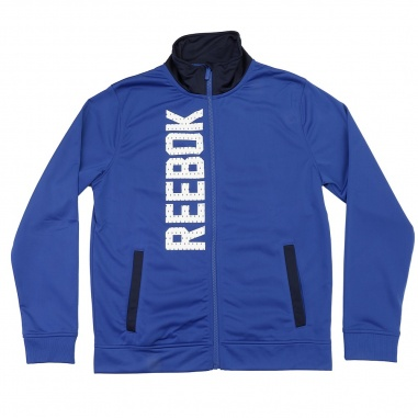 Reebok Tricot Tracksuit Blue