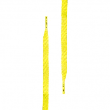 Tube Laces Silver neonyellow 120CM