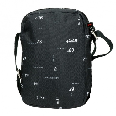 The Pack Society Small Shoulder Bag Black Numbersr