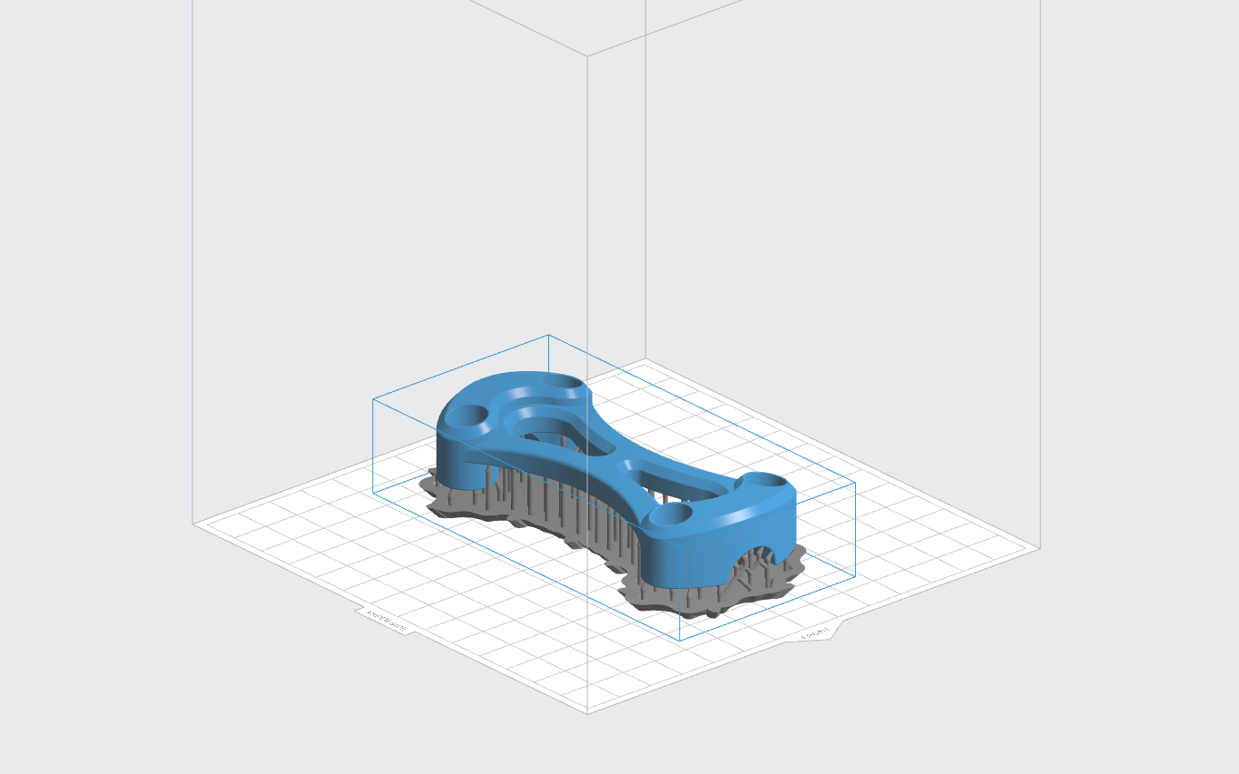 How To Design Parts For Sla 3d Printing Hubs Tooth Diagram Additionally Of A Bridge Teeth Model Orientated Sub Optimally Horizontally With Large Z Axis Cross Sectional Area In This Orientation Support Is Minimised But Likelihood Print