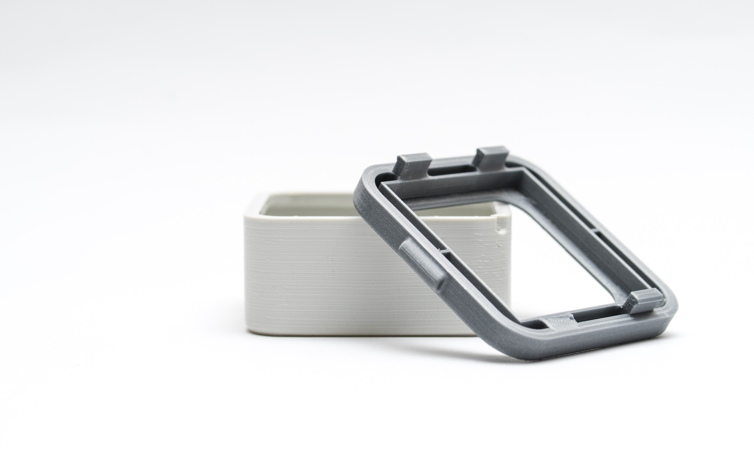 Snap-fits are regularly used for securing 3D printed enclosures