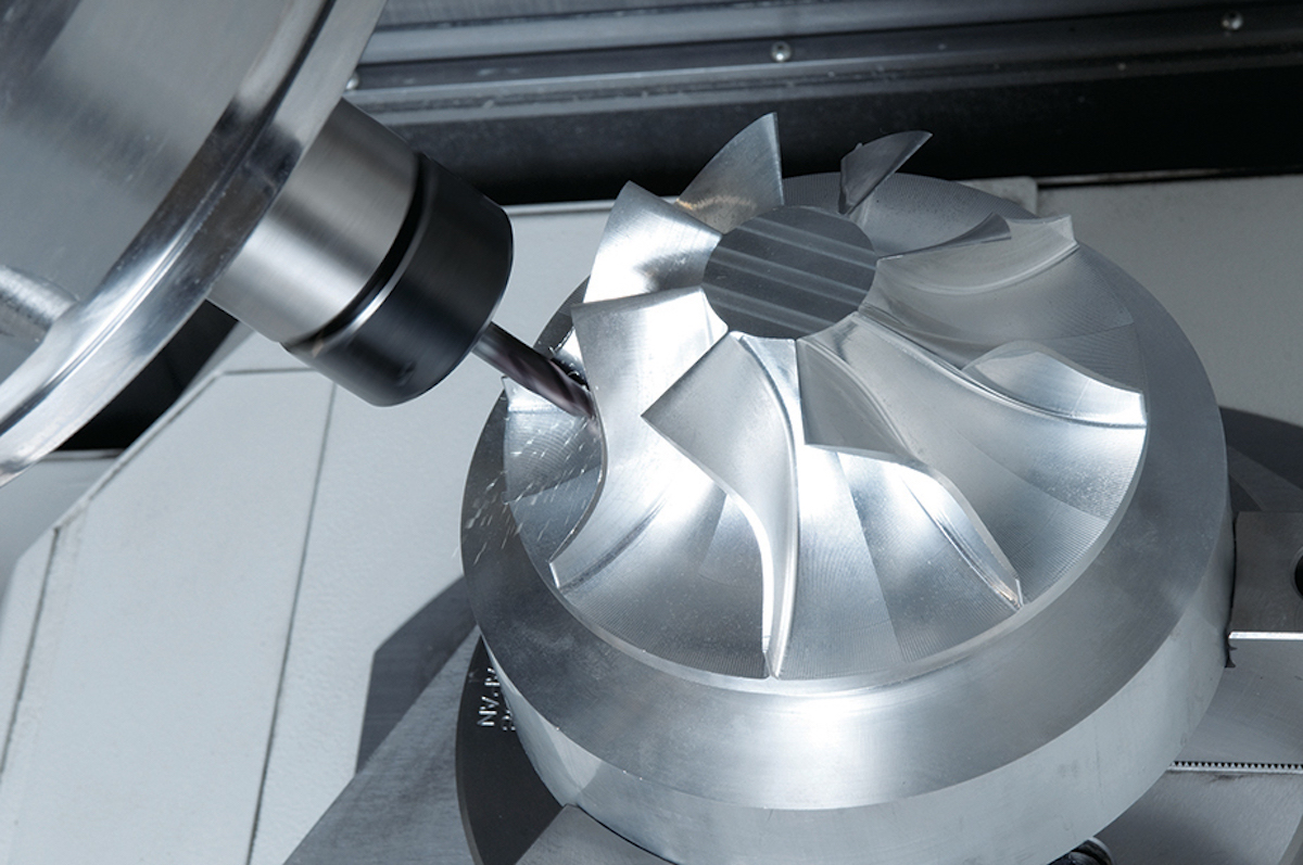 5-axis CNC systems allow the cutting tool to access areas that are impossible to reach with 3-axis systems