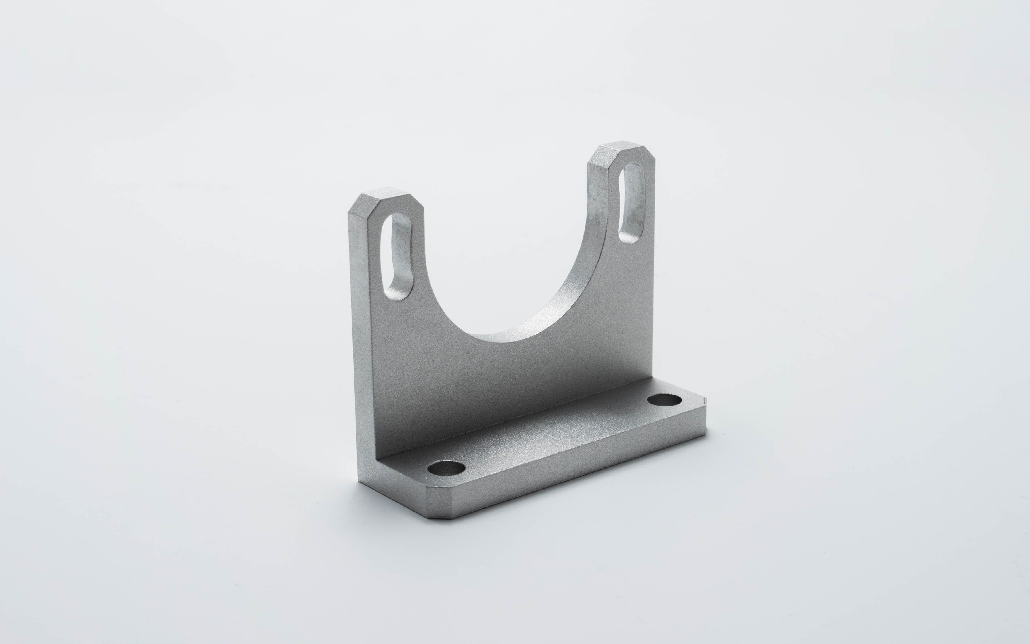 A typical part machined with CNC millng