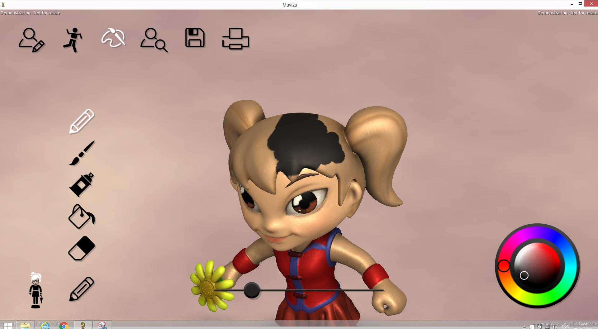 3d Character Design App : Minimaker new d printing app design hubs talk
