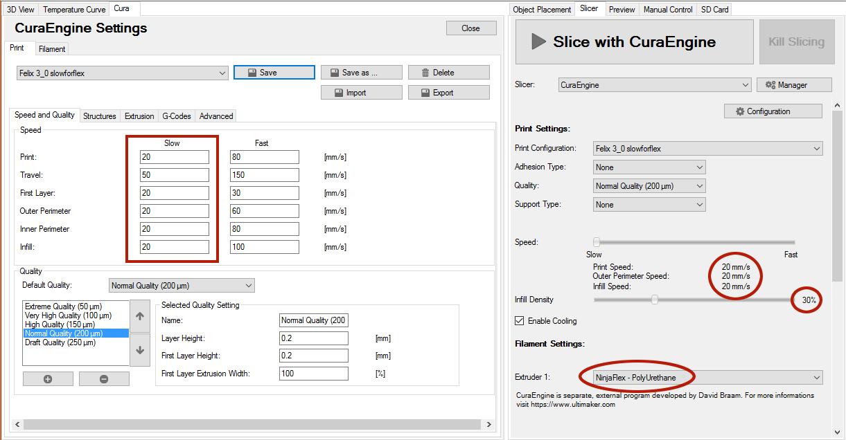 Wanhao Duplicator I3 Plus Manual Temperature Setting