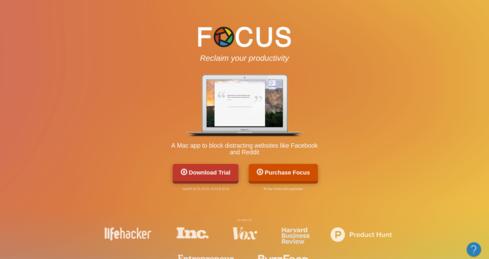 Website van Focus