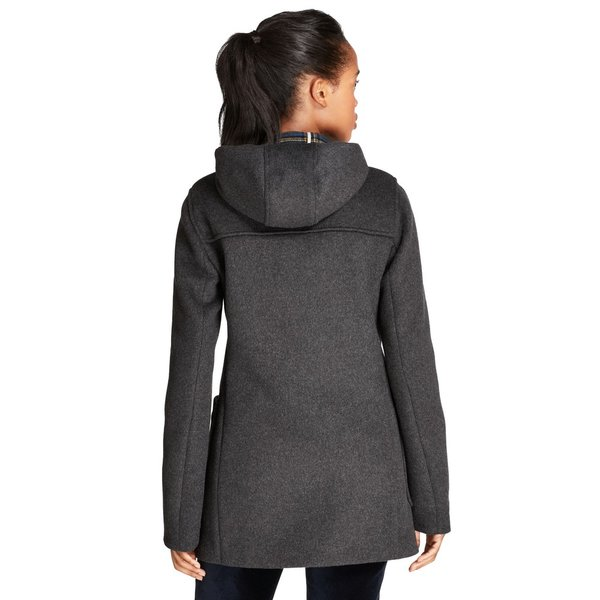Double faced wool blend duffle montgomery coat  2