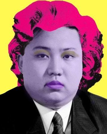 Kim jong un by cartrain  line 6