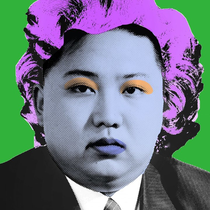Kim jong un green by cartrain  line 7