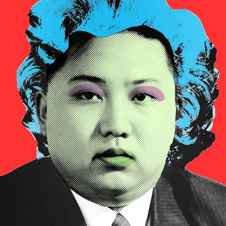 Kim jong un red by cartrain  line 8