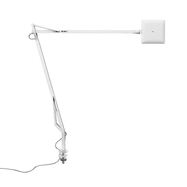 Kelvin edge bianco desk hiddencable