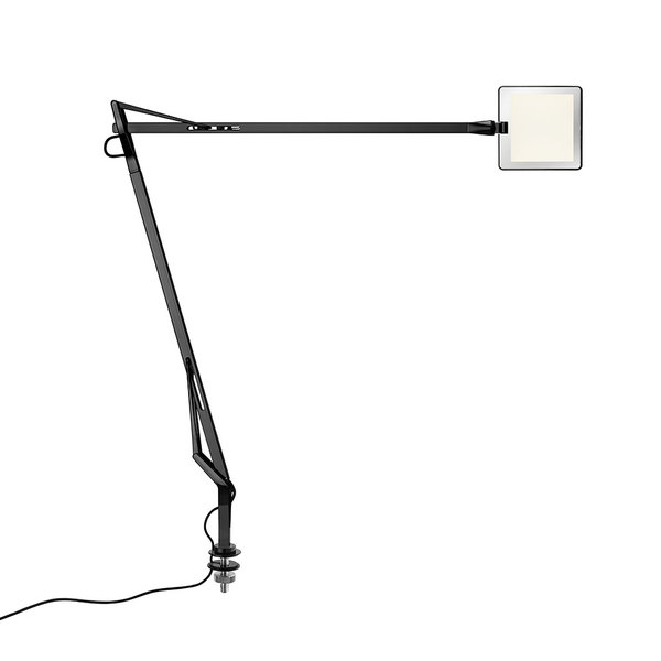Kelvin edge nera accessorio desk hiddencable luce