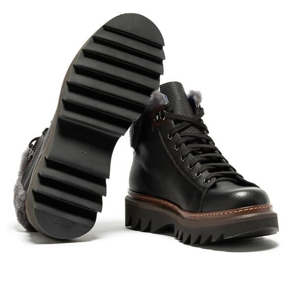 Kipling boots black grey man alberto guardiani gu77083caam00 03