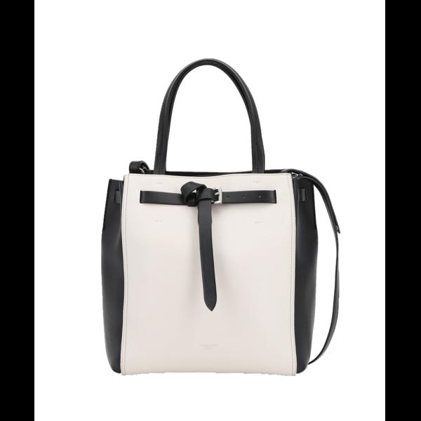 Medium tote style gita bag with colour blocking trussardi 50 01 8057735544479 f