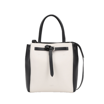 Medium tote style gita bag with colour blocking trussardi 50 01 8057735544479 f