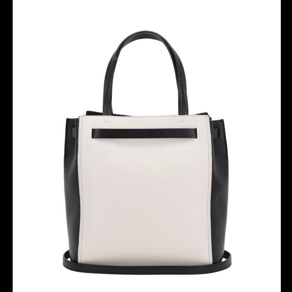 Medium tote style gita bag with colour blocking trussardi 50 03 8057735544479 r