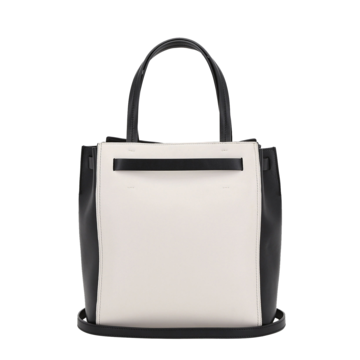 Medium tote style gita bag with colour blocking trussardi 50 03 8057735544479 r