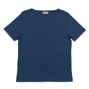Grain tshirt doha cotone blu 1