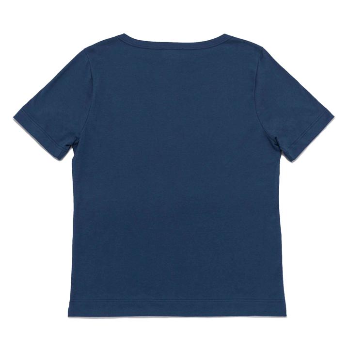 Grain tshirt doha cotone blu 2