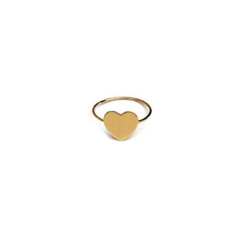 Anello filo cuore grande oro %281%29