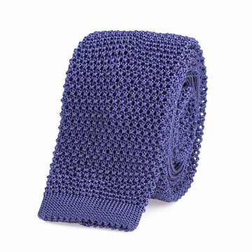 Knitted tie lilac