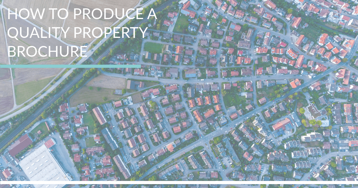 Producing a brochure   Commercial Property Marketing   5874