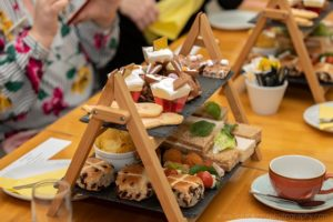 Afternoon Tea At Chocolate Deli Worcester 3rd April 2019