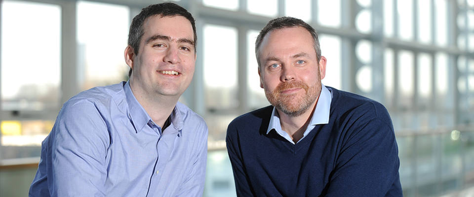 Ben Williams and Paul Collins - Founders of Spica Technologies, Header