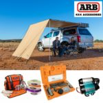 Full range of ARB awnings and accessories.