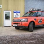 G4 Challenge Range Rover Sport TDV8