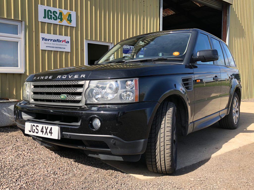 Range Rover Sport – Preventative Gearbox Flush | JGS 4x4