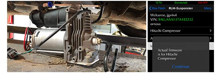 AMK Air suspension compressor