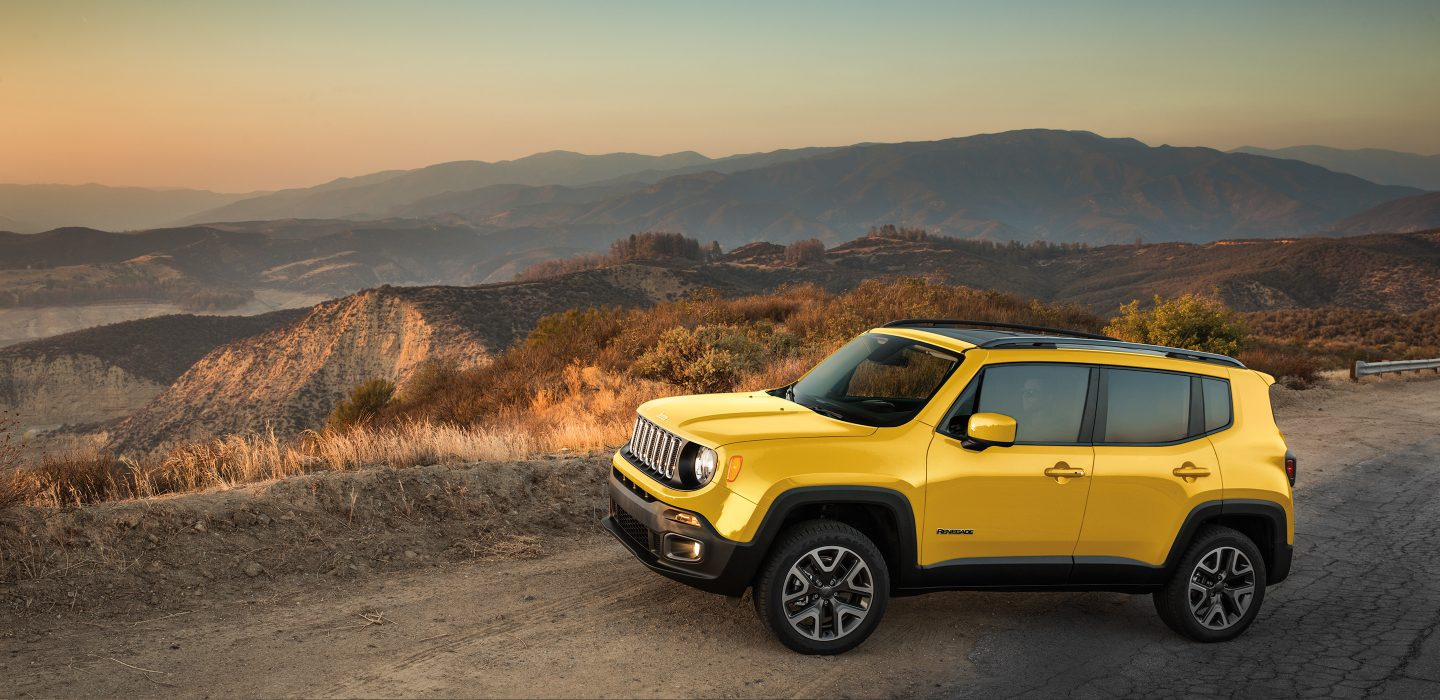 Jeep Renegade Solar Yellow