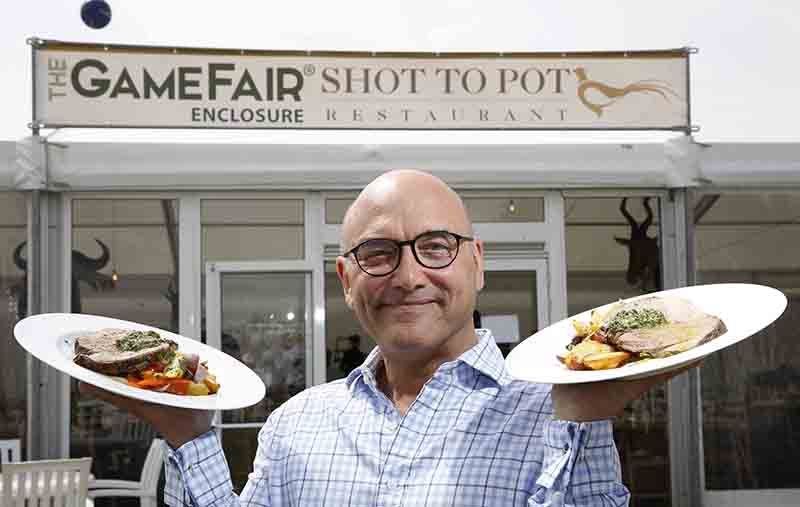 Shot to Pot restaurant with Gregg Wallace.