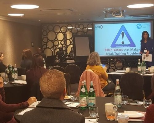 ITSS delivers Killer Factors Apprenticeship workshop in London