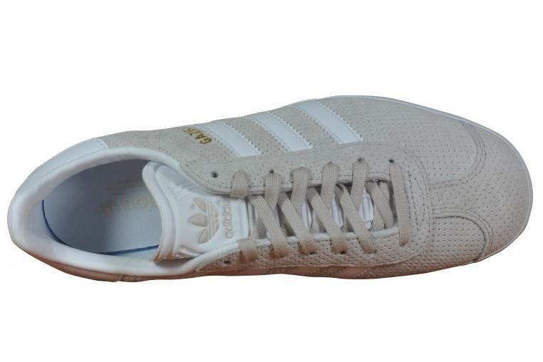 Adidas / Gazzella W Brown / Adidas Bianco / Oro Ebay b81f93