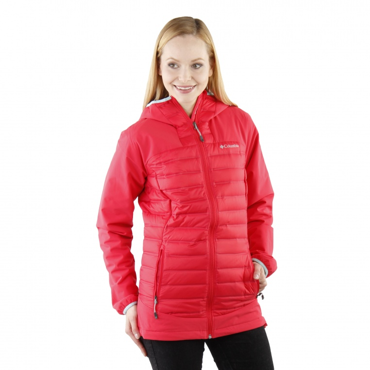 columbia-hybrid-jacket-red