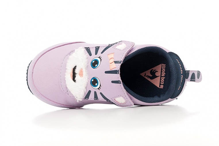 le-coq-sportif-racerone-inf-animal-face-girl