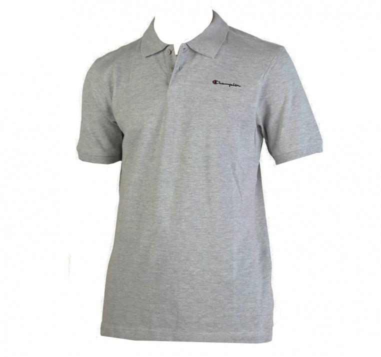 polo-champion-short-sleeve-mens-polo-shirt-t-shirt-top-grey