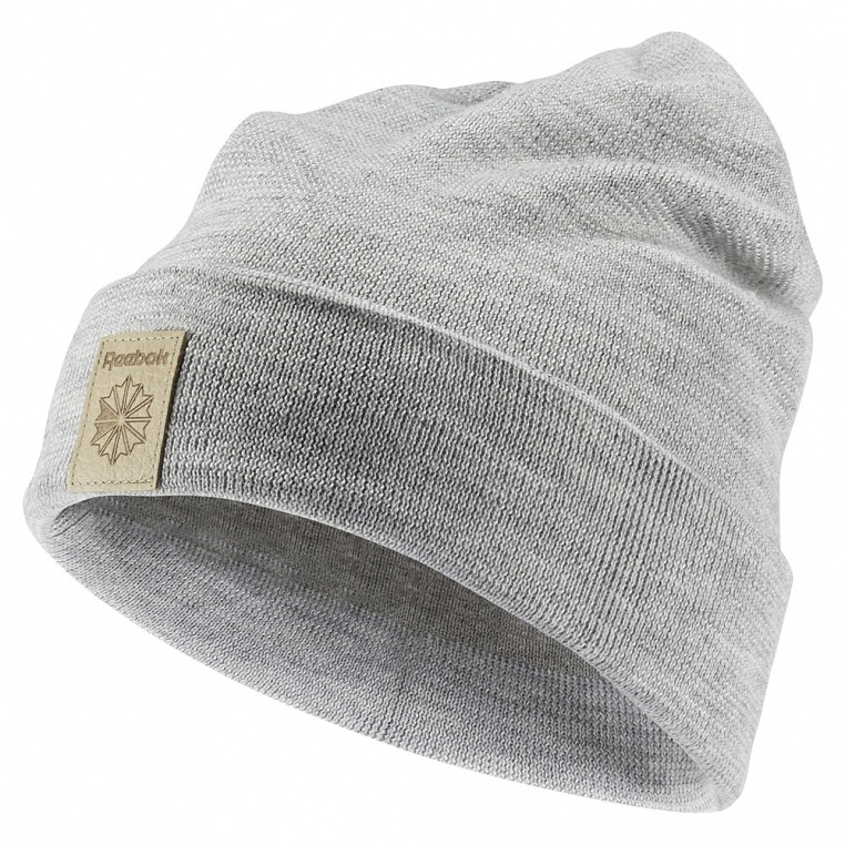 reebok-classics-foundation-beanie-medium-grey