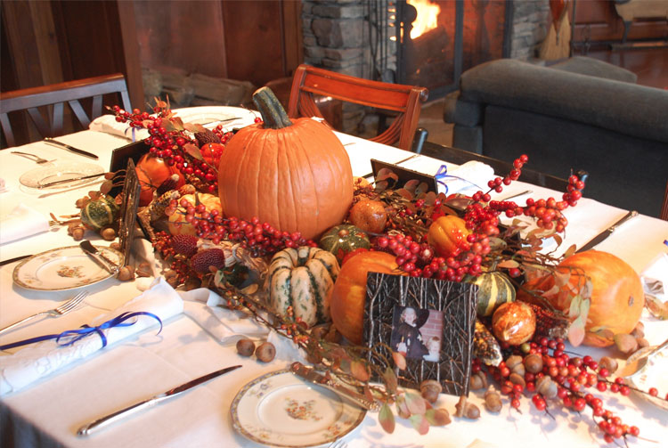 Fall Table Idea Dubai
