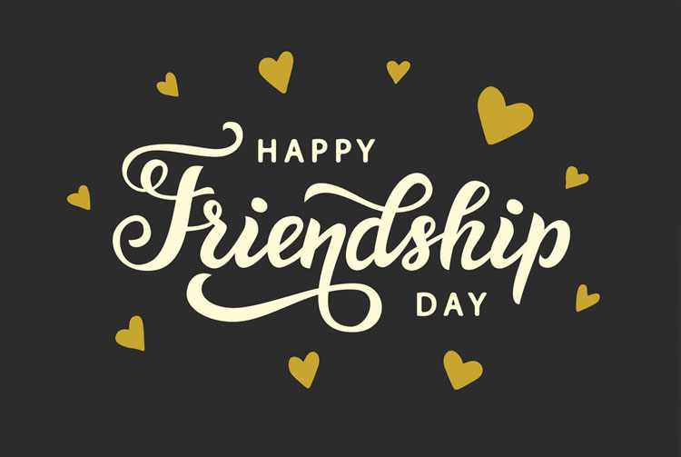 Happy Friendship Day in Dubai August 5th