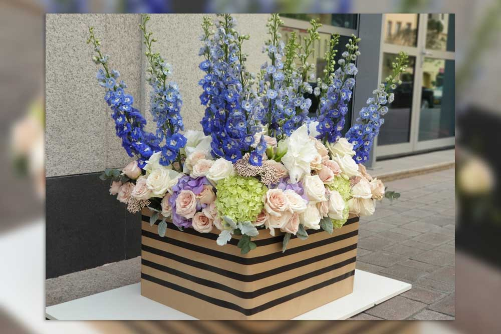 Super Flowers For A Super Girl This Dubai Influencer Is Lucky In Love
