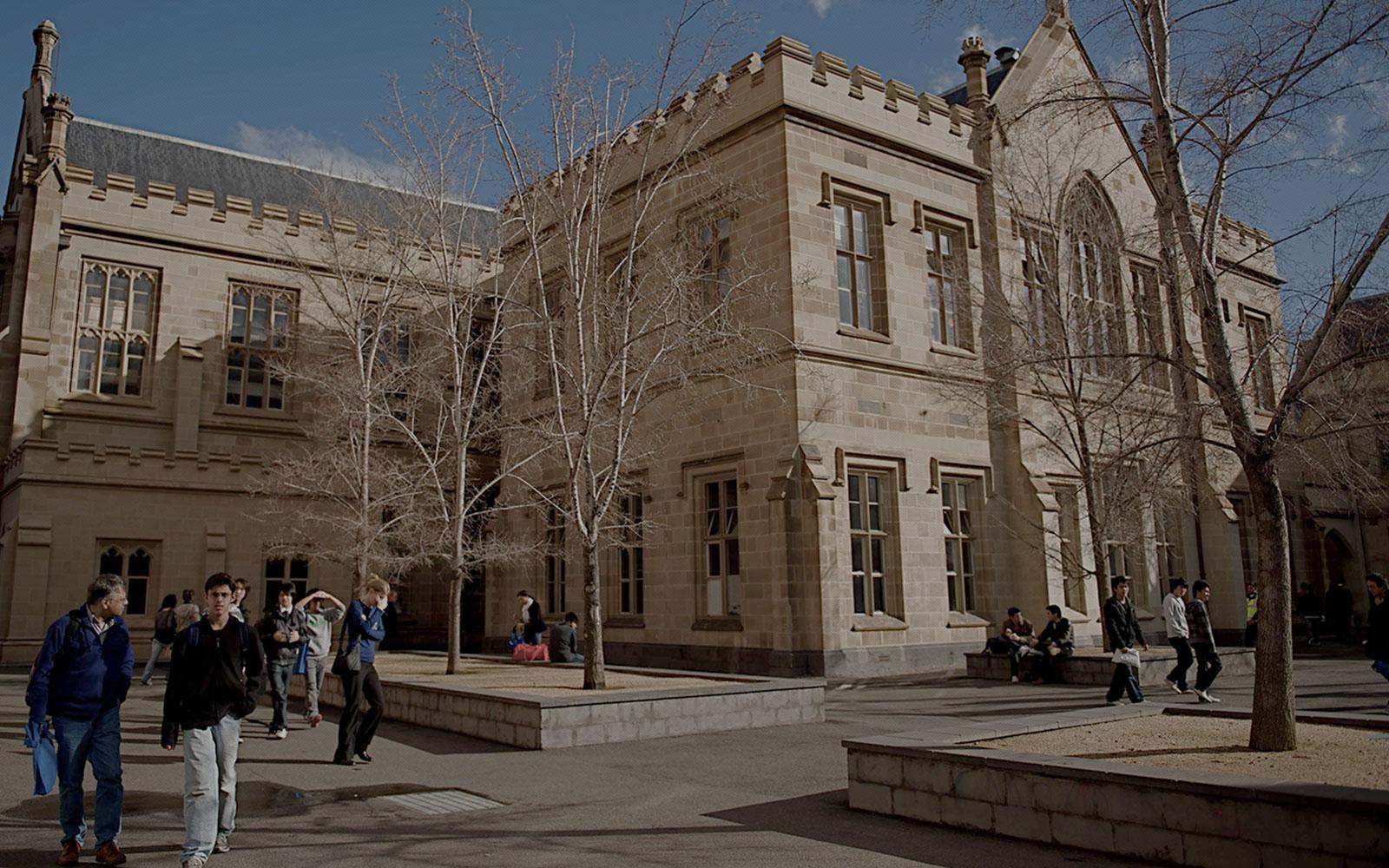 University of Melbourne  banner