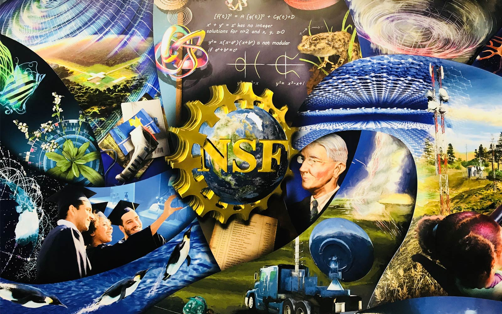 National Science Foundation (NSF)  banner