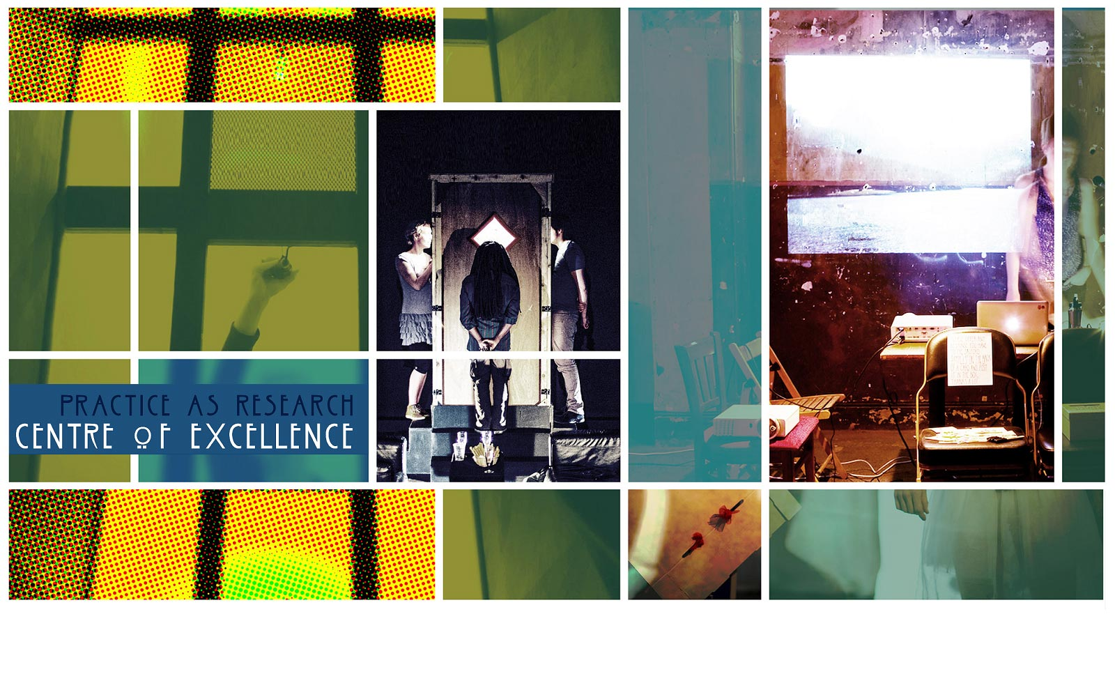 Practice-as-Research Centre of Excellence  banner