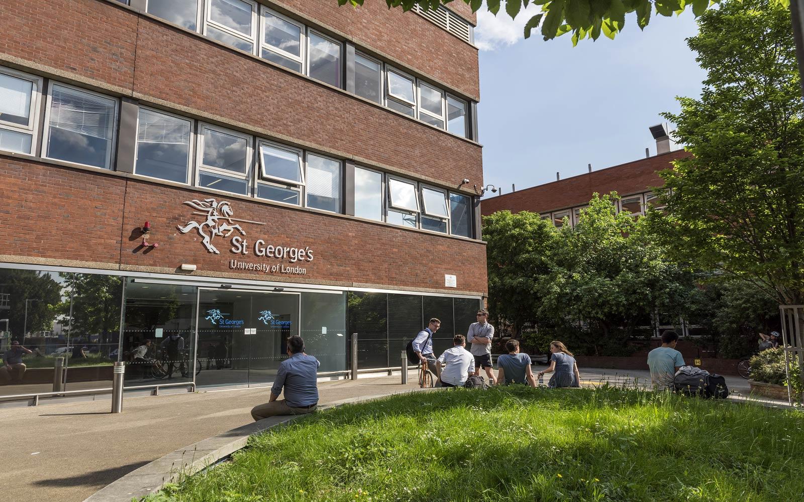 St George's, University of London  banner